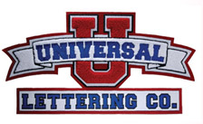 home page universal lettering
